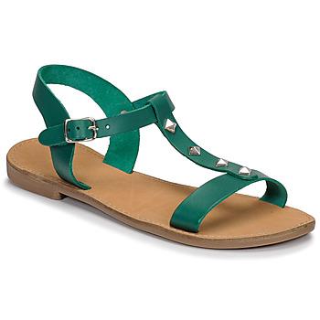 Schuhe Damen Sandalen / Sandaletten André DOMINOU Grün
