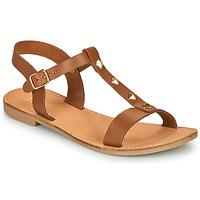 Schuhe Damen Sandalen / Sandaletten André DOMINOU Camel