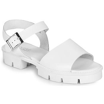 Schuhe Damen Sandalen / Sandaletten André ABRICOT Weiss