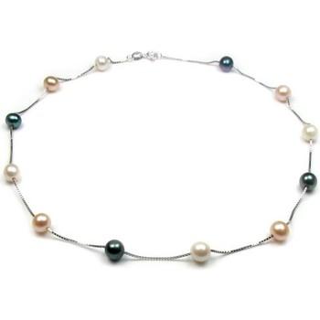 Uhren Damen Collier Blue Pearls BPS 0303 Y Multicolor