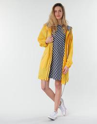 Kleidung Damen Parkas Petit Bateau SHINE Gelb