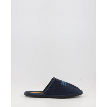 Schuhe Damen Hausschuhe Nordikas 535 azul bleu