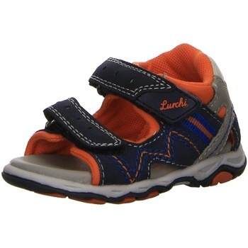 Schuhe Jungen Babyschuhe Lurchi Sandalen Jeans Suede PU Sandale 33-16116-22 blau