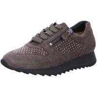 Schuhe Damen Sneaker Low Hassia Schnuerschuhe Schnürer Madrid 301832-5600 grau
