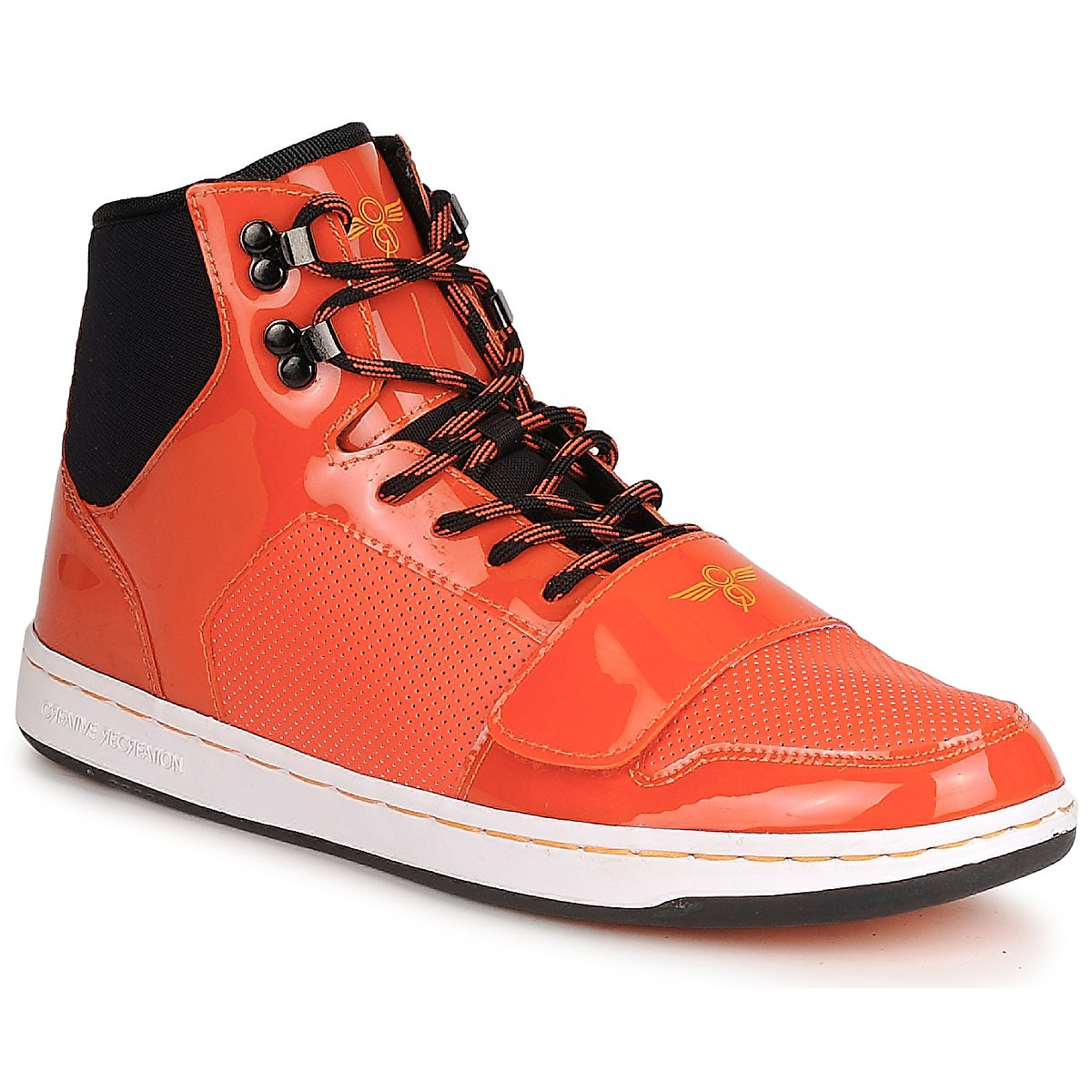 Creative Recreation W CESARIO Orange - Kostenloser Versand bei Spartoode ! - Schuhe Sneaker High Damen 42,50 €
