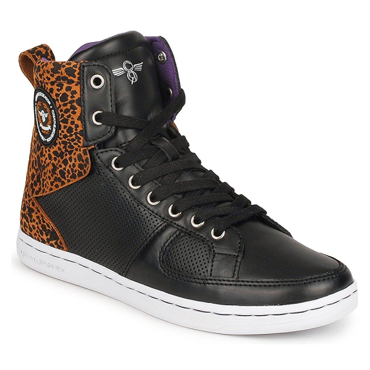 Creative Recreation W SOLANO Schwarz - Kostenloser Versand bei Spartoode ! - Schuhe Sneaker High Damen 42,50 €