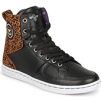 Schuhe Damen Sneaker High Creative Recreation W SOLANO Schwarz