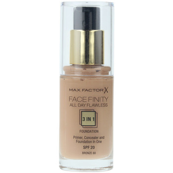 Beauty Damen Make-up & Foundation  Max Factor Facefinity All Day Flawless 3 In 1 Foundation 80-bronze 30 ml