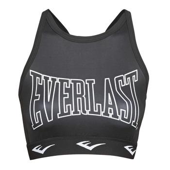 Kleidung Damen Sport BHs Everlast DURAN Schwarz / Weiss