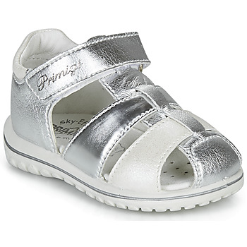Schuhe Mädchen Sandalen / Sandaletten Primigi  Silbern