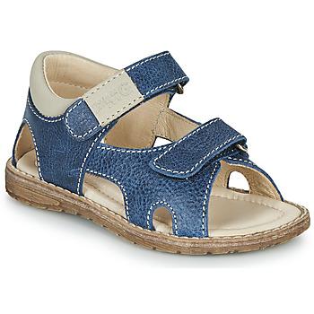 Schuhe Jungen Sandalen / Sandaletten Primigi 5410222 Blau / Grau