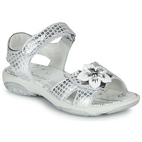 Schuhe Mädchen Sandalen / Sandaletten Primigi 5383533 Silbern