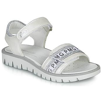 Schuhe Mädchen Sandalen / Sandaletten Primigi  Weiss / Silbern