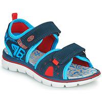 Schuhe Jungen Sandalen / Sandaletten Primigi 5392822 Marine / Blau / Rot