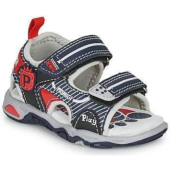 Schuhe Jungen Sandalen / Sandaletten Primigi 5450544 Marine / Rot