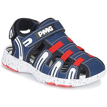 Schuhe Jungen Sportliche Sandalen Primigi 5461611 Marine / Rot