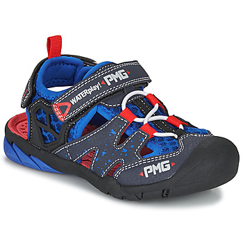 Schuhe Jungen Sportliche Sandalen Primigi 5460111 Blau / Rot