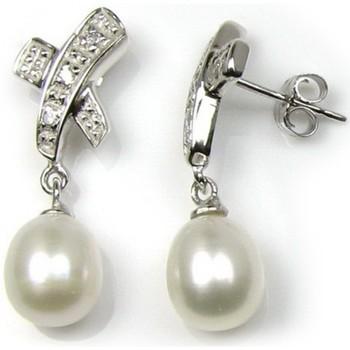 Uhren & Schmuck Damen Ohrringe Blue Pearls BPS 0319 Y Multicolor