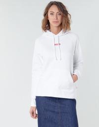 Kleidung Damen Sweatshirts Levi's RAPHIC SPORT HOODIE BABY TAB HOODIE Weiss