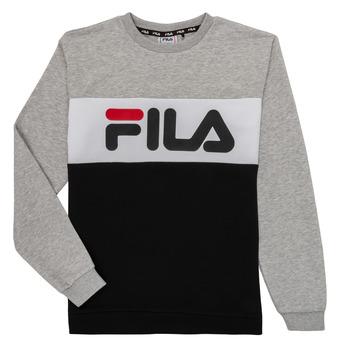 Kleidung Kinder Sweatshirts Fila FLORE Grau / Schwarz