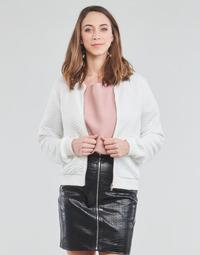 Kleidung Damen Sweatshirts Moony Mood CHUCK Weiss