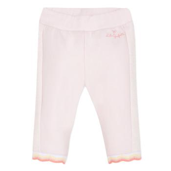 Kleidung Mädchen 5-Pocket-Hosen Lili Gaufrette NOLIS Rose
