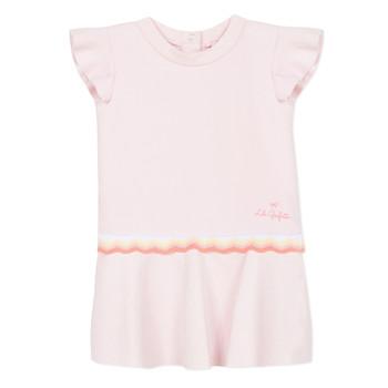 Kleidung Mädchen Kurze Kleider Lili Gaufrette NARITTE Rose
