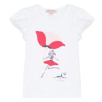 Kleidung Mädchen T-Shirts Lili Gaufrette KATINE Weiss