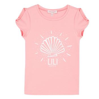 Kleidung Mädchen T-Shirts Lili Gaufrette KATIA Orange