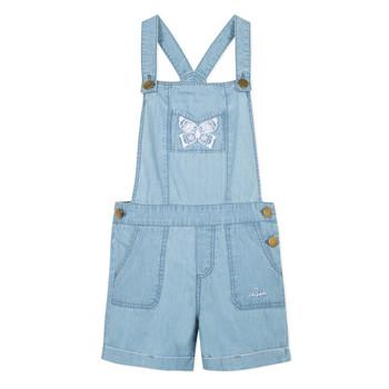 Kleidung Mädchen Overalls / Latzhosen Lili Gaufrette NANYSSE Blau