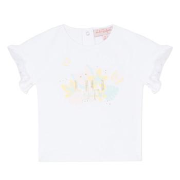 Kleidung Mädchen T-Shirts Lili Gaufrette KERINI Weiss