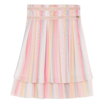 Kleidung Mädchen Röcke Lili Gaufrette MIREILLE Multicolor