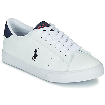 Schuhe Kinder Sneaker Low Polo Ralph Lauren THERON Weiss