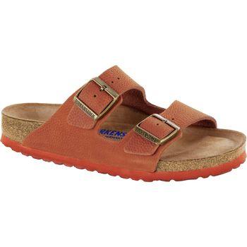 Schuhe Pantoffel Birkenstock & Co.kg Birkenstock Pantolette Arizona steer curry nubuk 1008924 Other