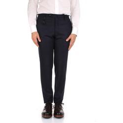 Kleidung Herren Anzughosen Incotex 1AT091 1721T blau