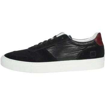 Schuhe Herren Sneaker Low Date E20-175 Schwarz
