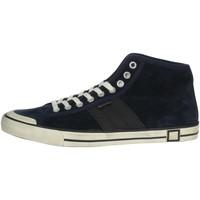 Schuhe Herren Sneaker High Date E20-126 Blau