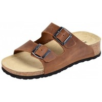 Schuhe Pantoffel Weeger Keil-Pantolette Art. 41121-40 braun