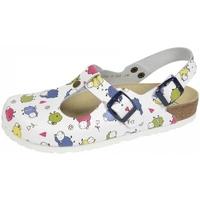 Schuhe Damen Pantoletten / Clogs Weeger Sp.-Clog Art.41710-14 Schafe