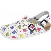 Schuhe Damen Pantoletten / Clogs Weeger Clog Art. 41610-14 Schafe
