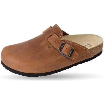 Schuhe Pantoffel Weeger Clog Art. 41510-40 braun