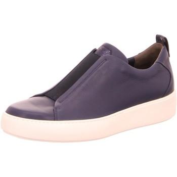 Schuhe Damen Slip on Paul Green Slipper 0062-4649-002/Slip-Ons 4649-002 blau