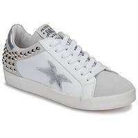 Schuhe Damen Sneaker Low Meline GELLABELLE Weiss