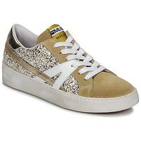 Schuhe Damen Sneaker Low Meline GERIE Gold