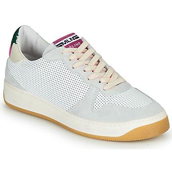 Schuhe Damen Sneaker Low Meline GEYSON Weiss