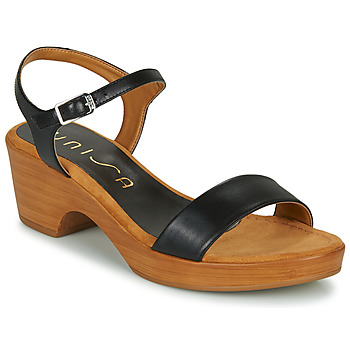 Schuhe Damen Sandalen / Sandaletten Unisa IRITA Schwarz