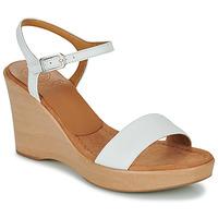 Schuhe Damen Sandalen / Sandaletten Unisa RITA Weiss