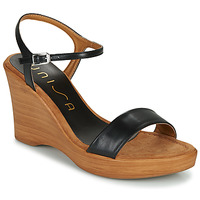 Schuhe Damen Sandalen / Sandaletten Unisa RITA Schwarz