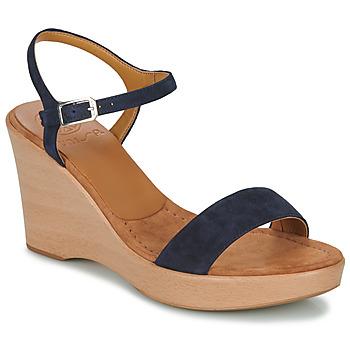 Schuhe Damen Sandalen / Sandaletten Unisa RITA Marine