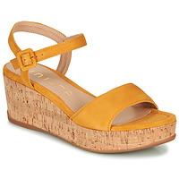 Schuhe Damen Sandalen / Sandaletten Unisa KOME Gelb